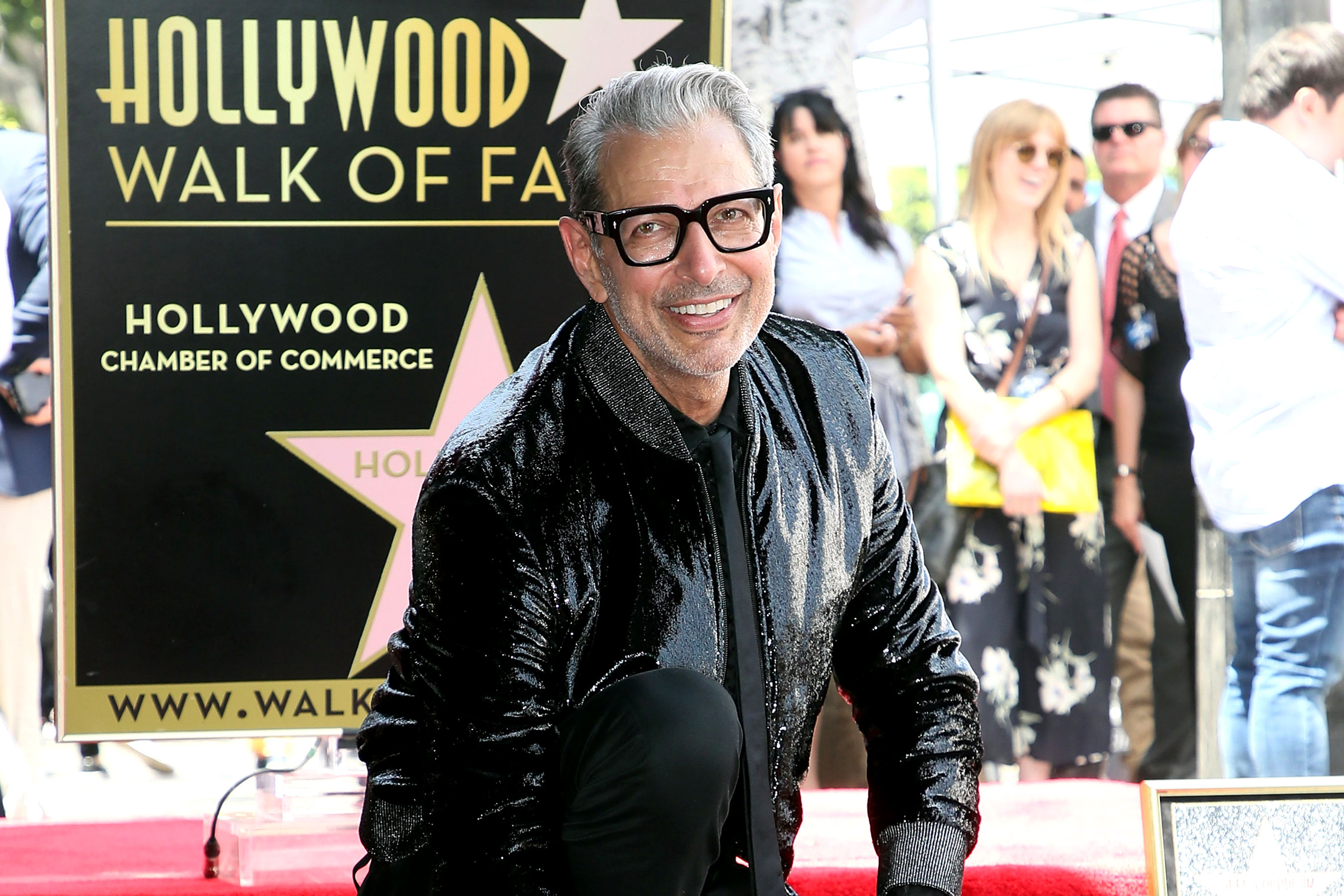 Jeff Goldblum riceve la stella sulla Hollywood Walk of Fame