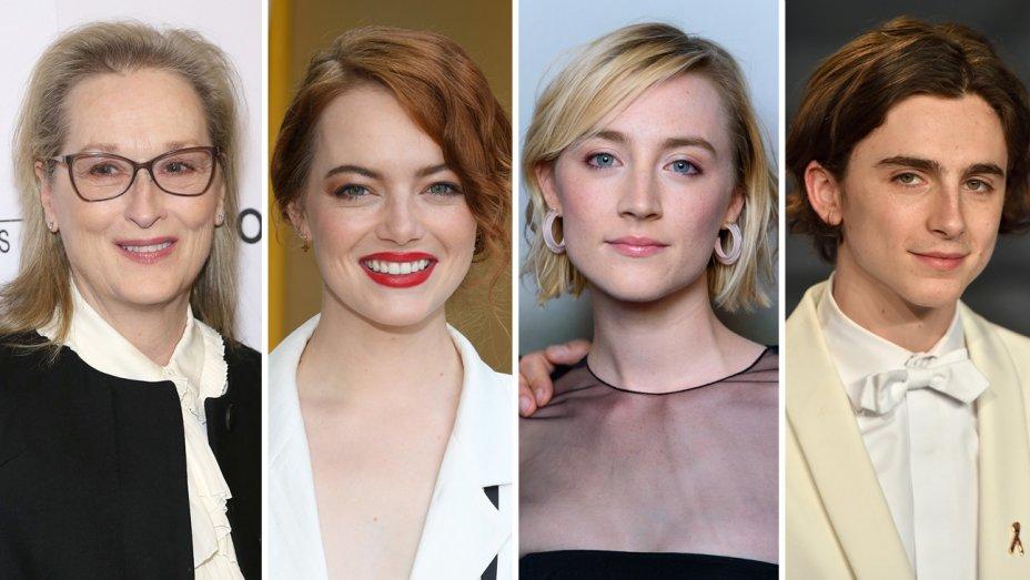 PICCOLE DONNE: Meryl Streep, Emma Stone, Saoirse Ronan e Timothee Chalamet nel cast?