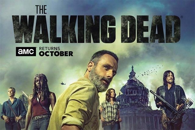 La prossima stagione di The Walking Dead sarà svolta a Washington: ecco il poster