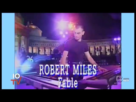 "QUANDO ROBERT MILES PORTO' ""CHILDREN"" E ""FABLE""AL FESTIVALBAR 1996"