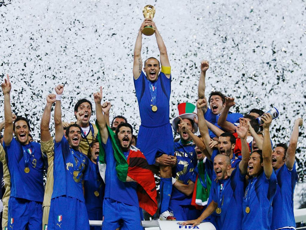 12 anni fa l'Italia era campione del mondo ed oggi nemmeno partecipa ai mondiali