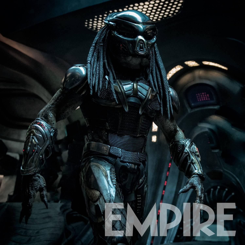The Predator: foto inedite rivelano come sarà l'armatura nuova