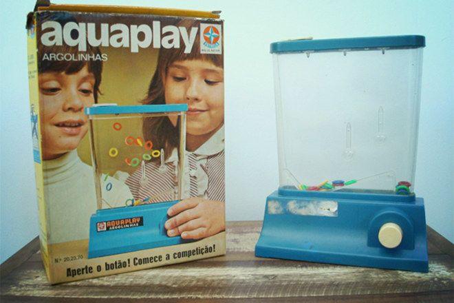 Aquaplay: il giocattolo anni 80 antenato del tablet