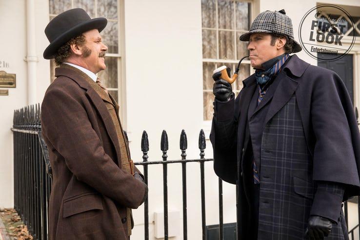 Holmes & Watson: il poster del film con Will Ferrell e John C. Reilly