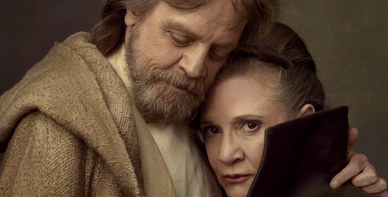 Mark Hamill suggerisce di levare la stella di Trump alla Walk of Fame e mettere quella di Carrie Fisher