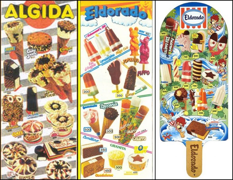 I gelati più famosi degli anni 80,90