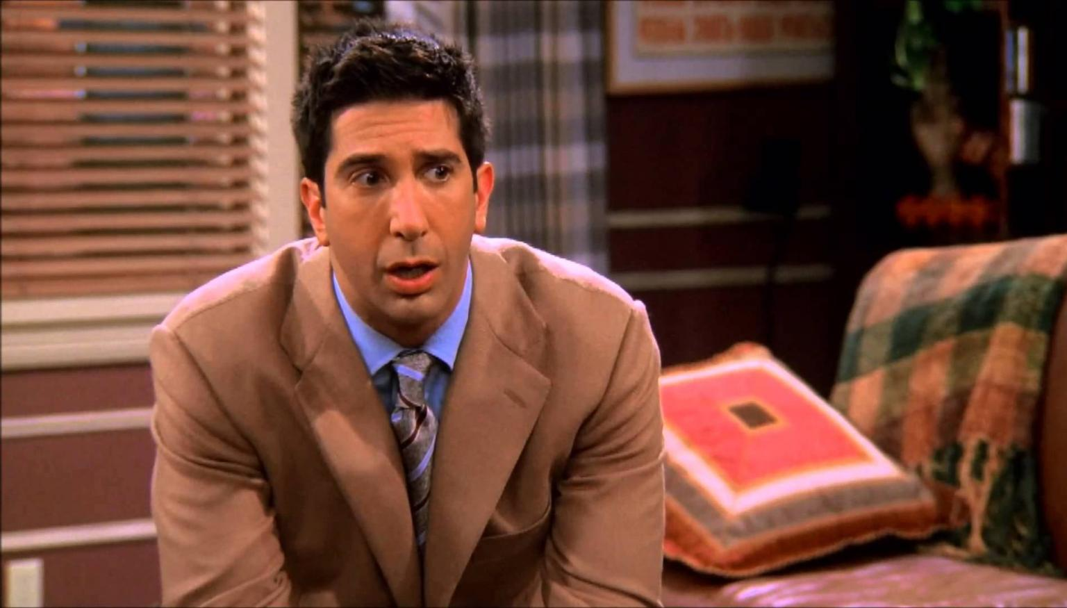 David Schwimmer: la star di Friends nel revival di Will & Grace
