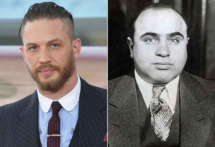 """Film su Al Capone, """"Fonzo"""": la prima foto di Tom Hardy nelle vesti del boss mafioso"""