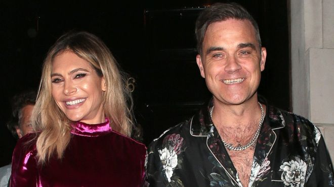 Grande gioia per Robbie Williams