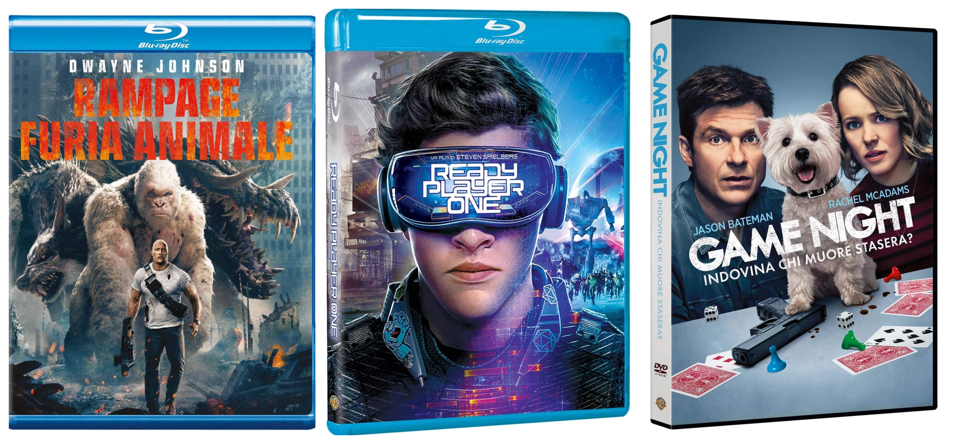 Nuove uscite homevideo Warner Bros