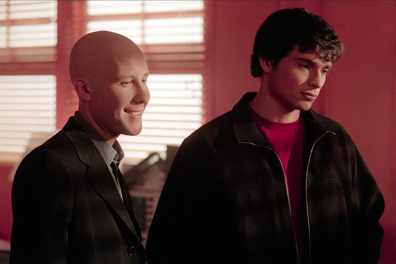 Mini-reunion Smallville: Clark e Lex insieme