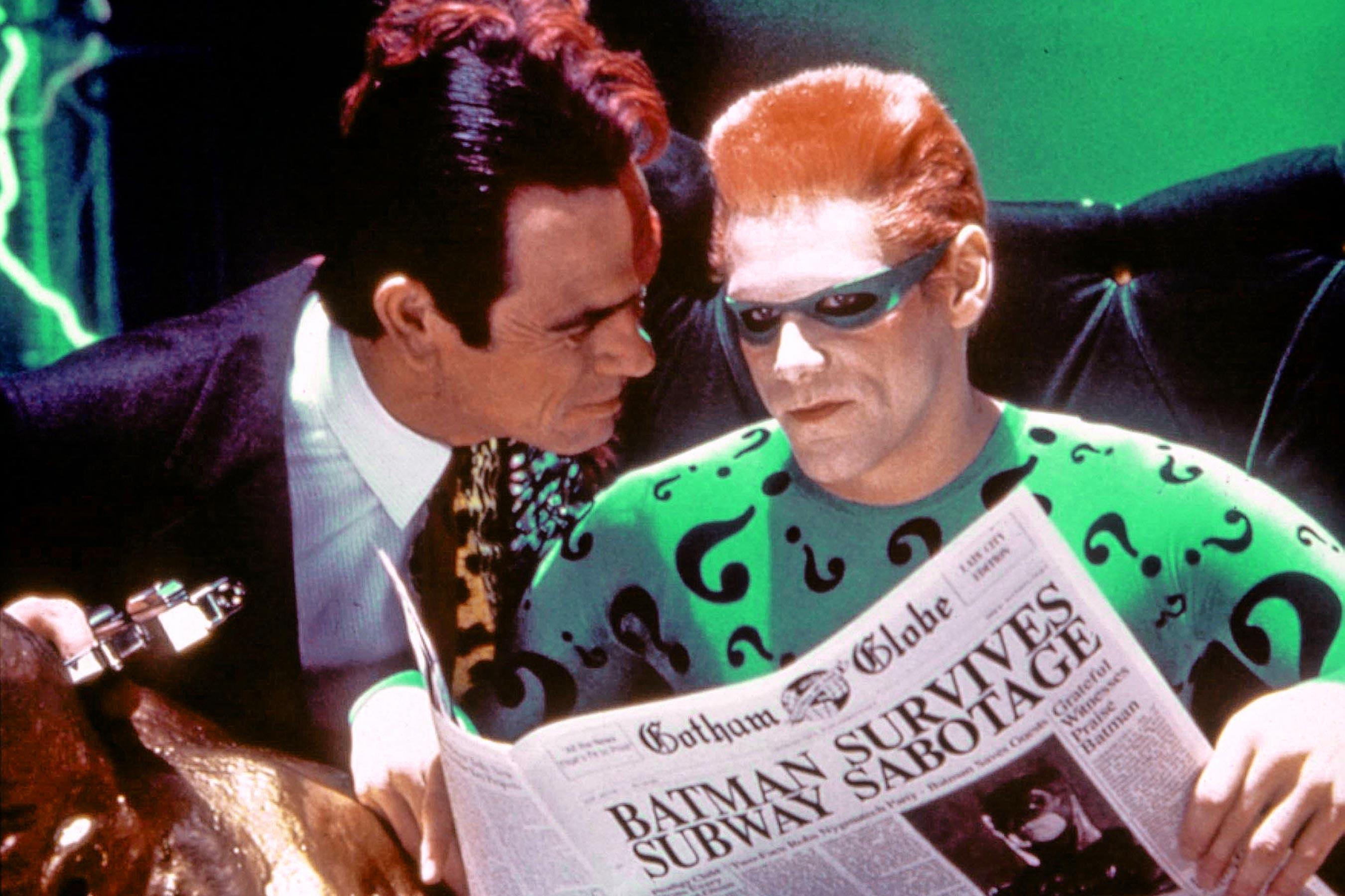Batman Forever e quel difficile rapporto tra Tommy Lee Jones e Jim Carrey sul set