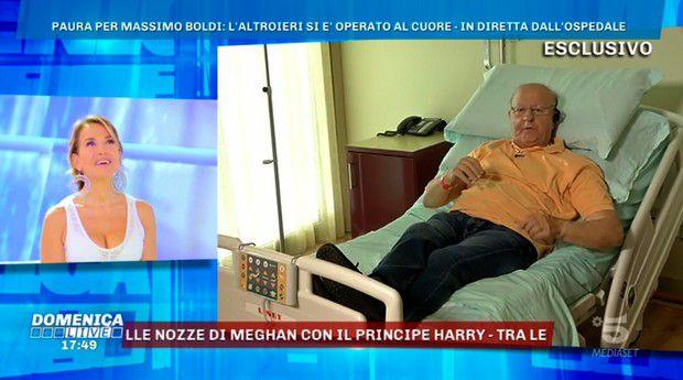 Massimo Boldi aggiorna sulle sue condizioni dopo l'operazione al cuore