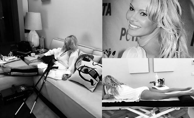 Incidente per Pamela Anderson