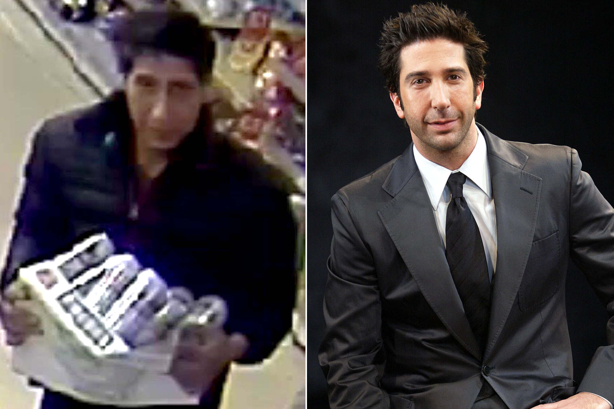 """Ricercato un ladro dalla polizia identico a David Schwimmer, Ross di """"Friends""""!"""