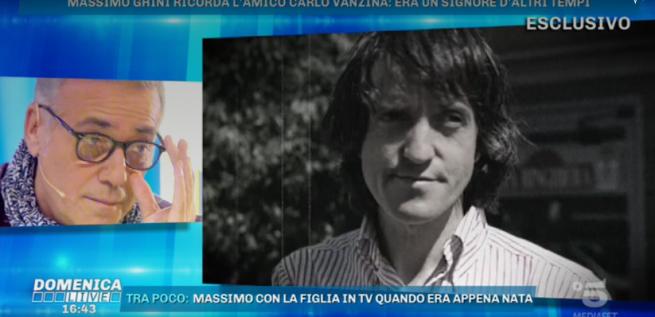 Massimo Ghini ricorda Carlo Vanzina