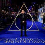 Johnny Depp si presenta in forma all'anteprima di Animali fantastici 2