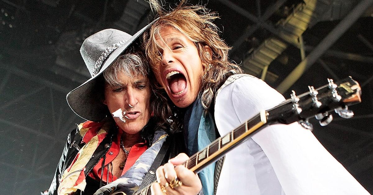 Aerosmith, malore per il chitarrista: intubato nel backstage