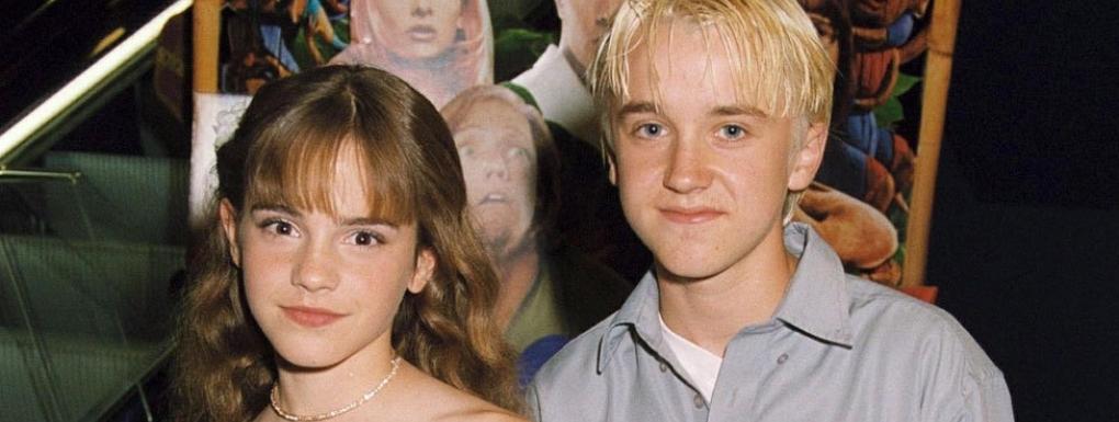 Emma Watson posta una dolce foto insieme a Tom Felton: Hermione e Malfoy in realtà si vogliono bene!