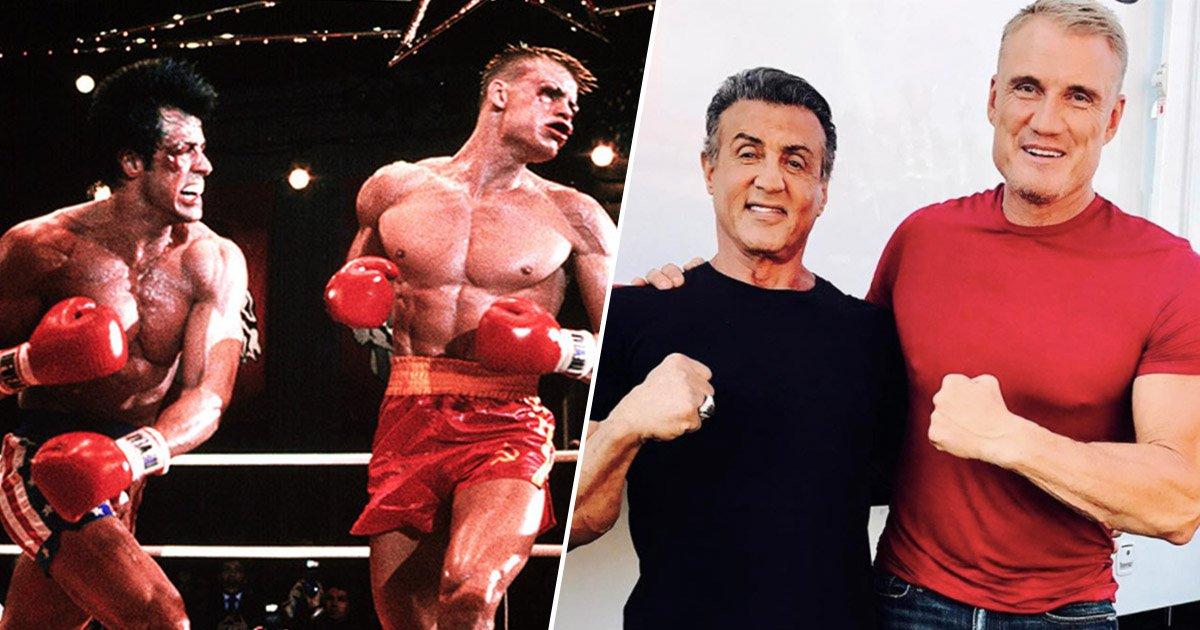 Dolph Lundgren non crede all'addio di Rocky da parte di Stallone