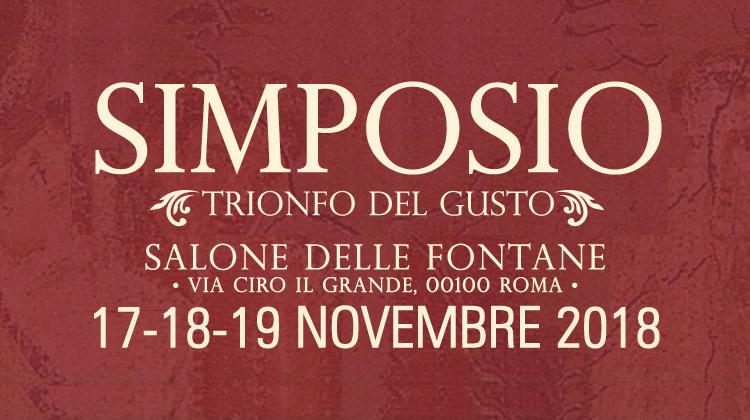 Simposio, trionfo del gusto a Roma