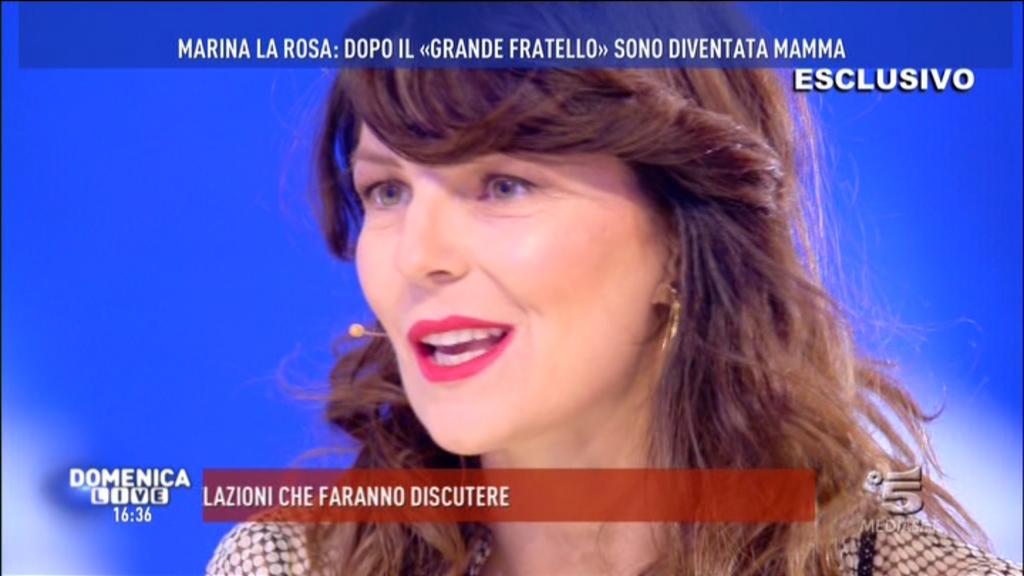 Marina La Rosa: «Sono stata molestata». E si commuove ricordando Pietro Taricone