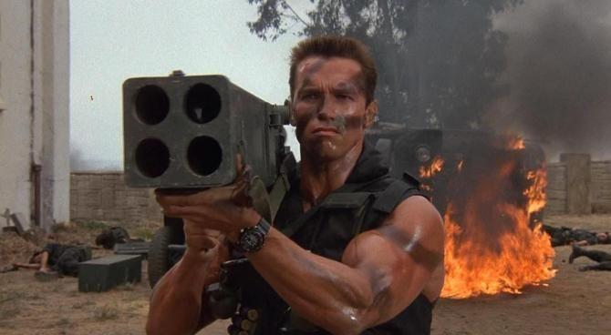 Commando, le curiosità del film con Arnold Schwarzenegger