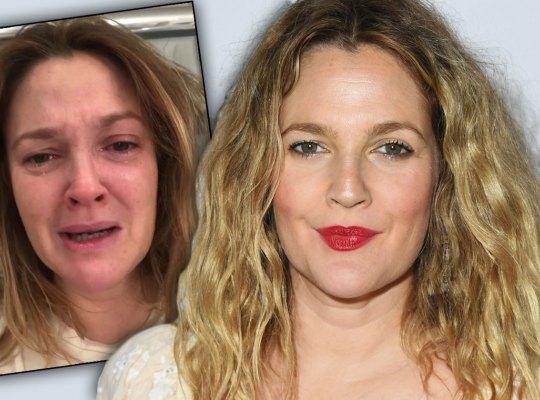 Drew Barrymore in lacrime su Instagram: «La vita ti butta giù in un minuto»