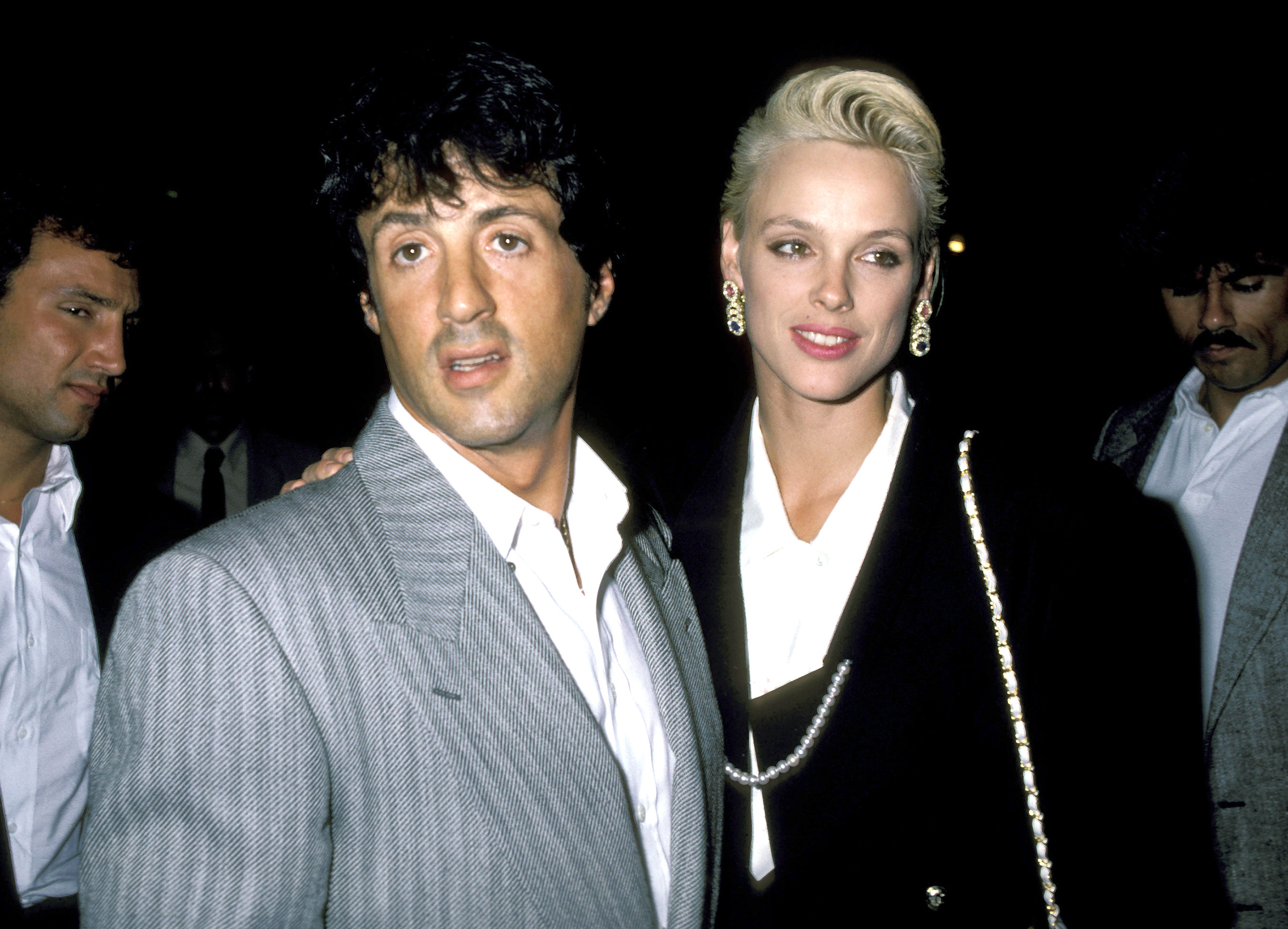Brigitte Nielsen sul set con l'ex Sylvester Stallone: «Nessun imbarazzo, è stato piacevole»