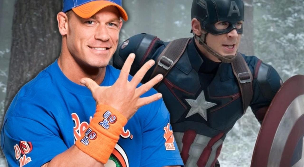 John Cena sarà il nuovo Captain America? Ecco cosa ha risposto la star del wrestling