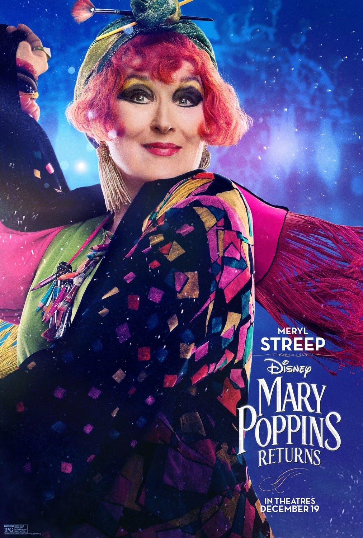 Mary poppins returns omaggerà il film originale in modi