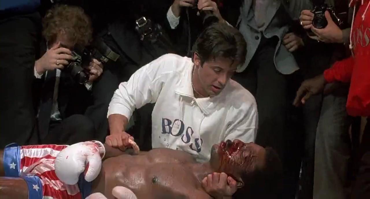 Stallone si pente di aver fatto morire APOLLO CREED così presto