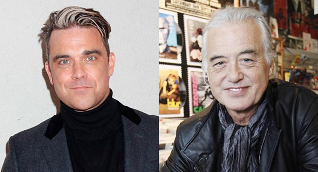 Robbie Williams, Jimmy Page e i dispetti da vicini di casa