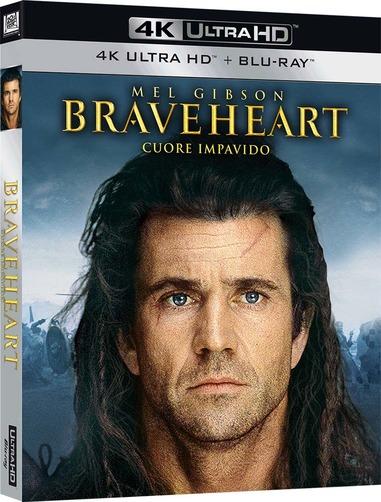 Braveheart arriva in 4k grazie a Fox