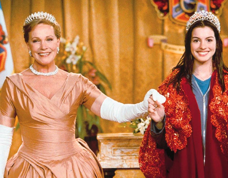 """Anne Hathaway e Julie Andrews pronte a tornare con""""Pretty Princess 3″!"""