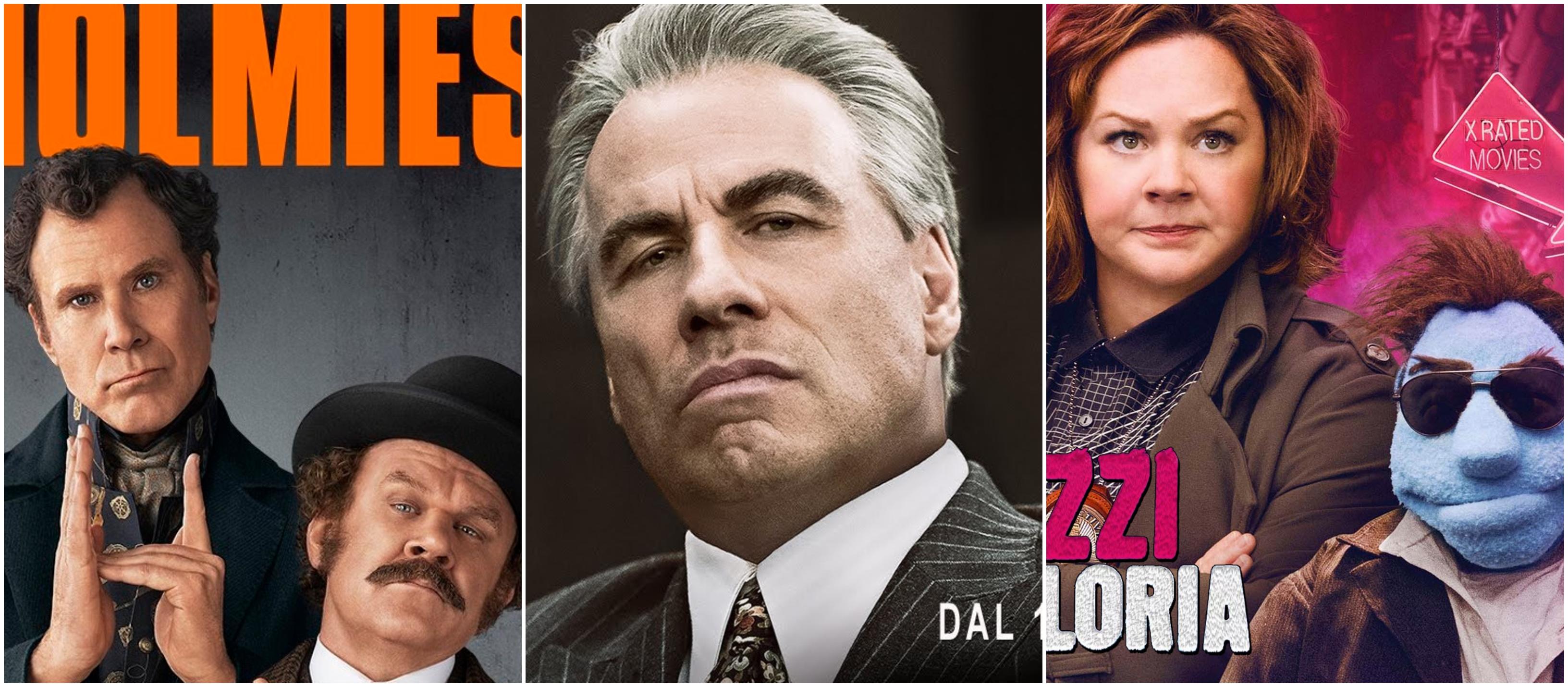 """Razzie Awards 2019: """"Gotti"""" e """"Holmes & Watson"""" in cima alle nomination per peggiori film"""