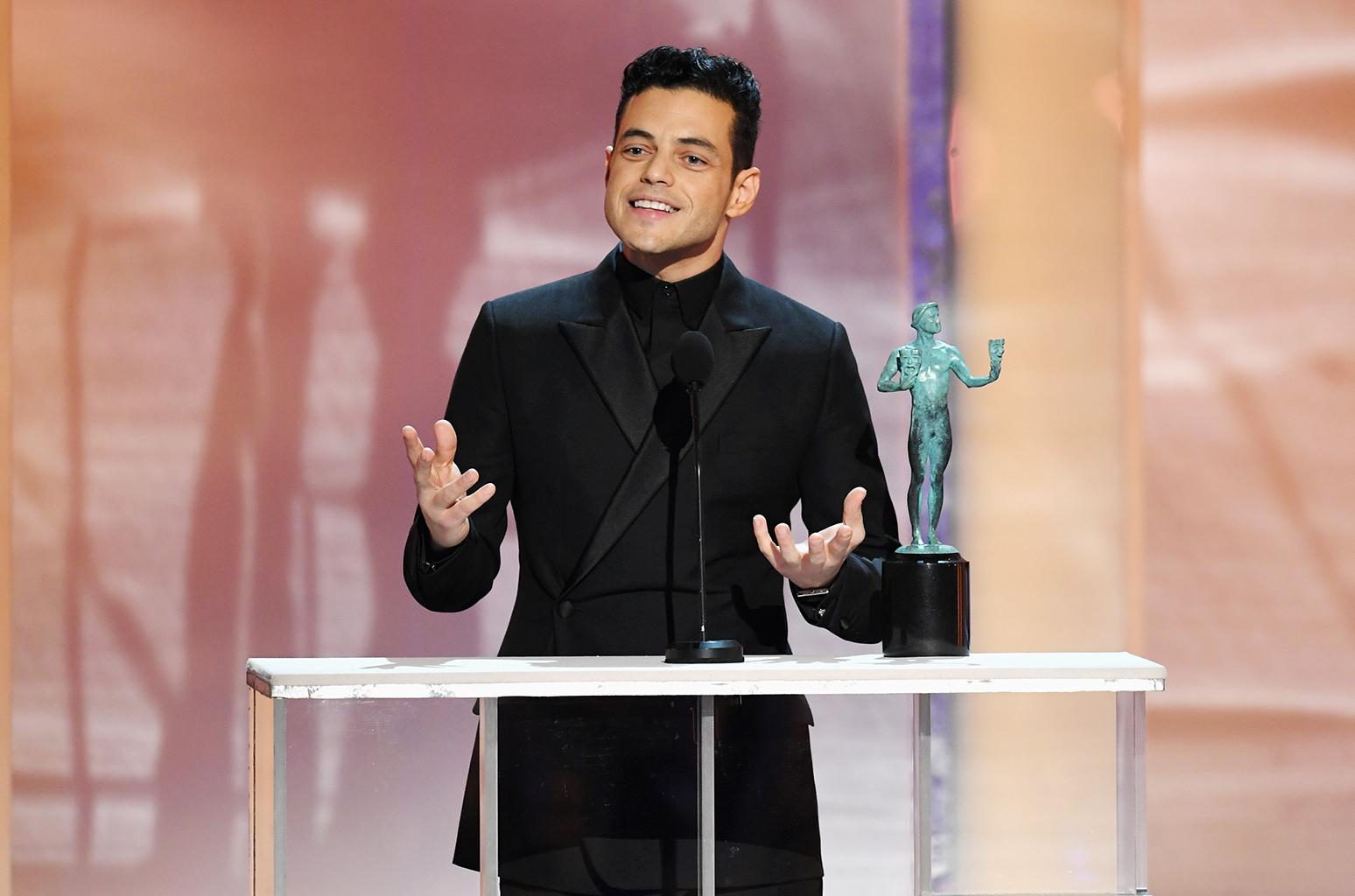 "Bohemian Rhapsody', Rami Malek  i SAG Award: ""Questo è per Freddie Mercury"""