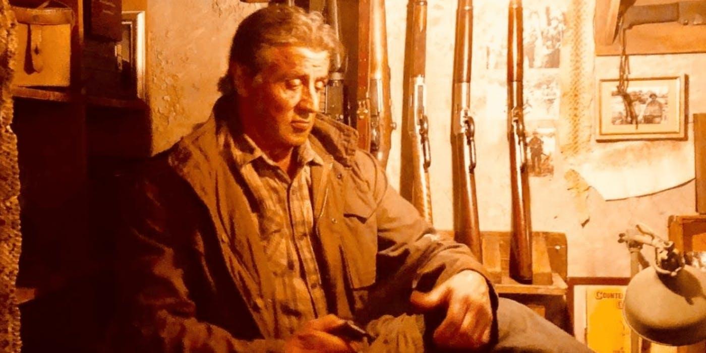Rambo 5: Stallone pubblica 5 foto inedite su Instagram