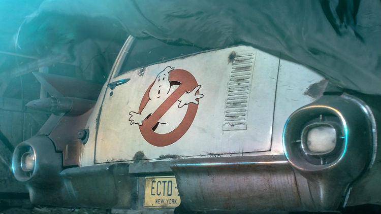 Ghostbusters 2020: nelle nuove foto dal set si vede l'iconica Ecto-1