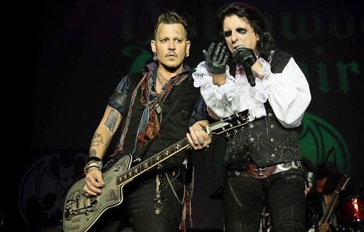 """Alice Cooper difende Johnny Depp: """"I media raccontano il falso su di lui"""""""