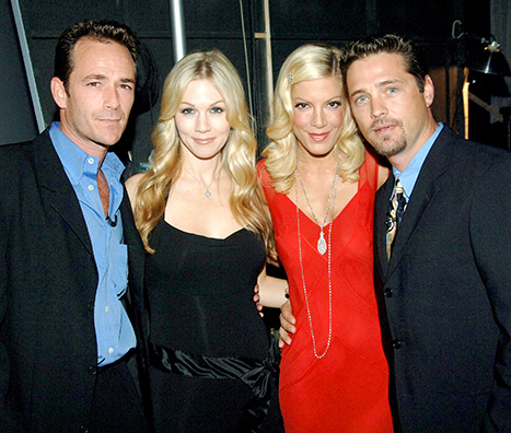 "Tori Spelling sul nuovo Beverly Hills 90210: ""Luke Perry ci sarà"""