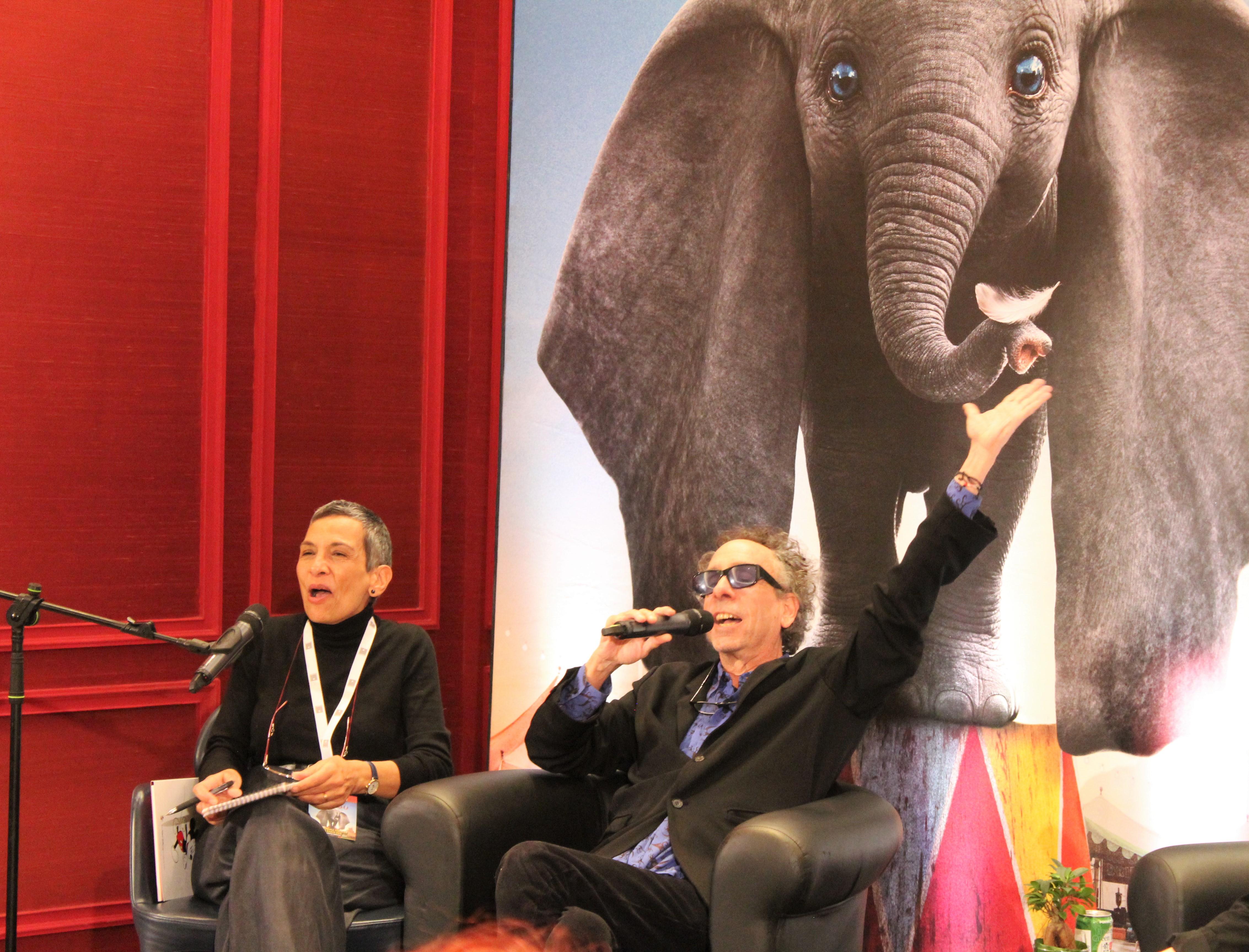 Dumbo: la conferenza stampa con Tim Burton