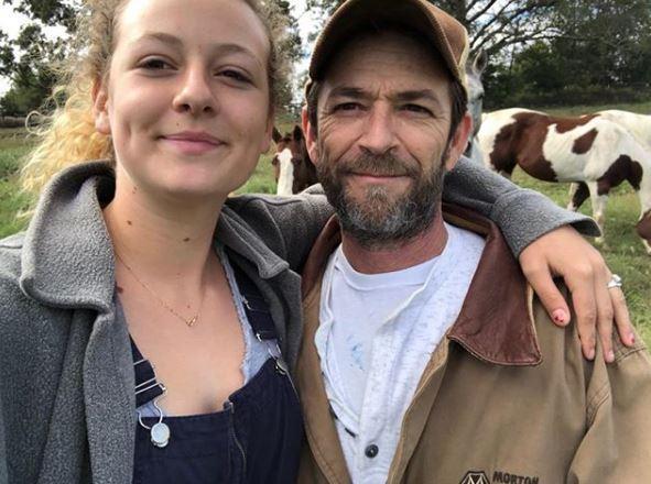 Luke Perry, il dolore dei figli dell'attore
