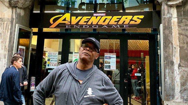 Avengers – Endgame: Samuel L. Jackson ha visto il film in un cinema di Trieste