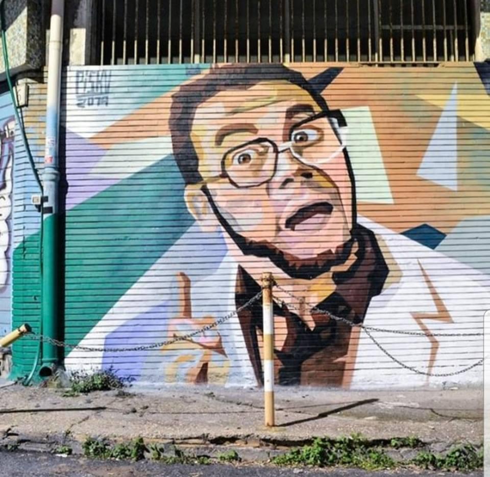 Spunta murales di Furio a Roma: Verdone ringrazia