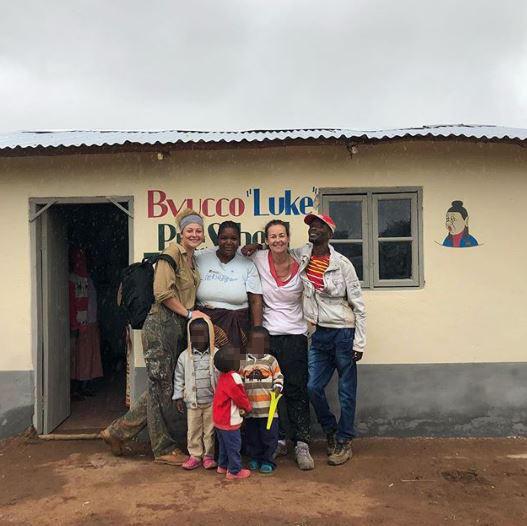 Luke Perry, la figlia Sophie dedica una scuola in Malawi