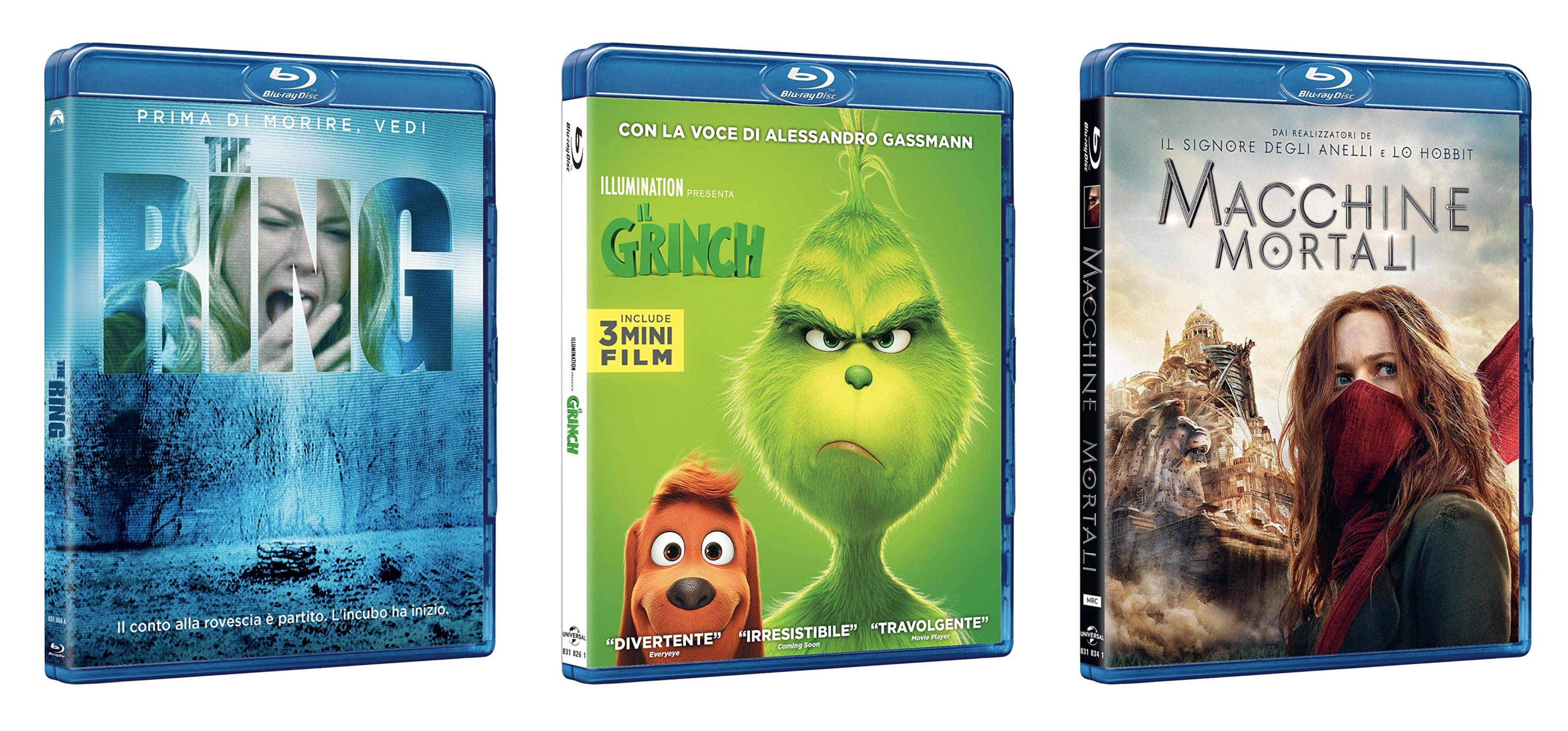 Universal home video: le ultime uscite del mese