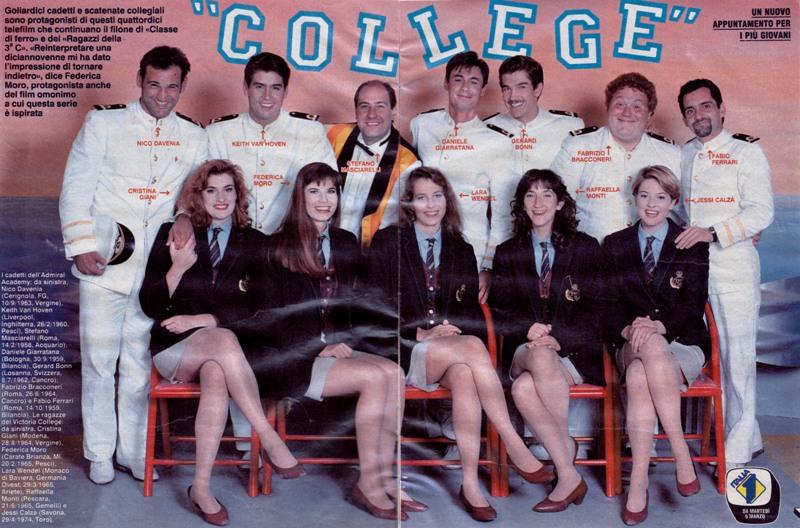 «College», che fine hanno fatto i protagonisti del telefilm degli anni '90 ?