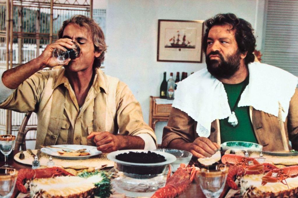 Io sto con gli ippopotami – le curiosità del film con Bud Spencer e Terence Hill