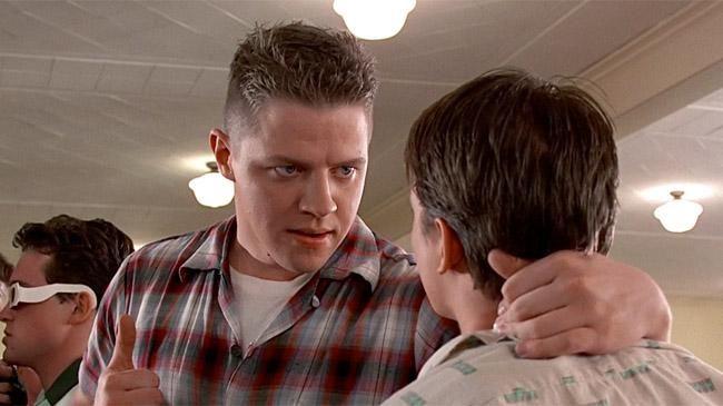 Ritorno al Futuro: Michael J.Fox di nuovo con Biff in una foto revival